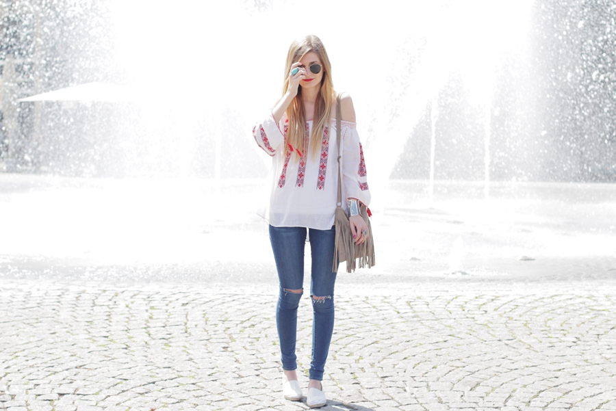 Boho Blouse Outfit 6