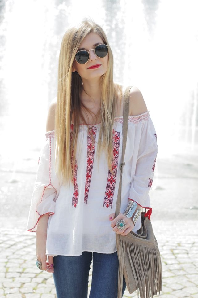 Boho Blouse Outfit 7