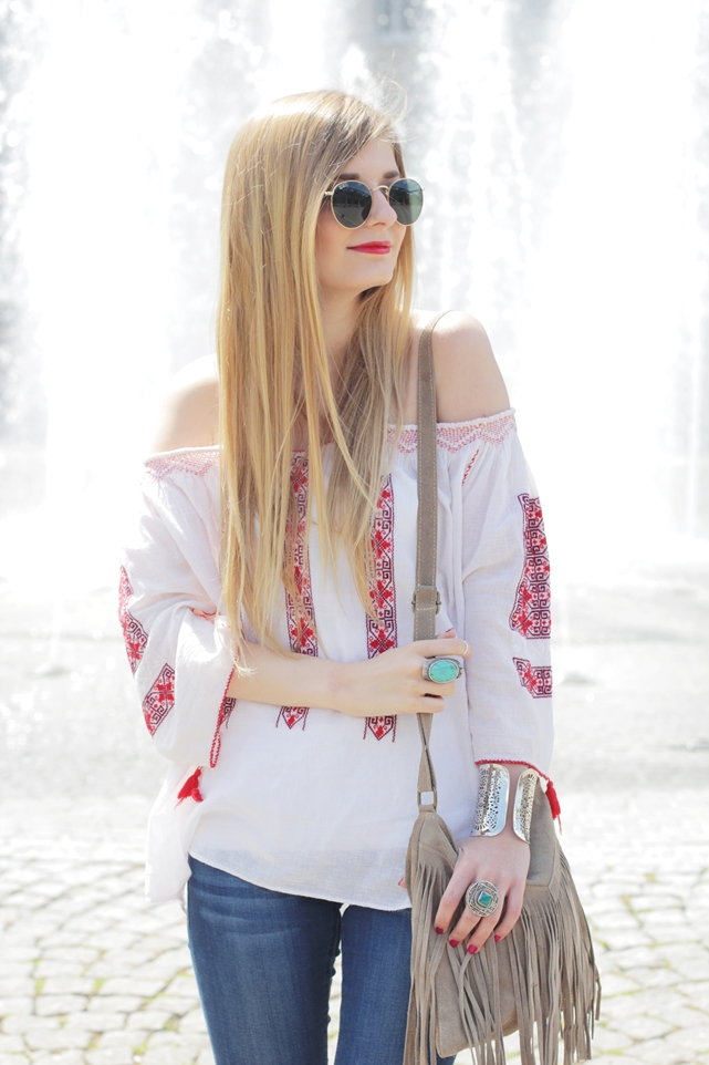 Boho Blouse Outfit 8