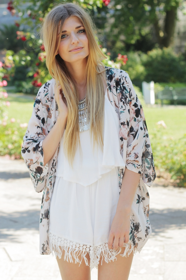 Sommer Outfit Jumpsuit Kimono 10