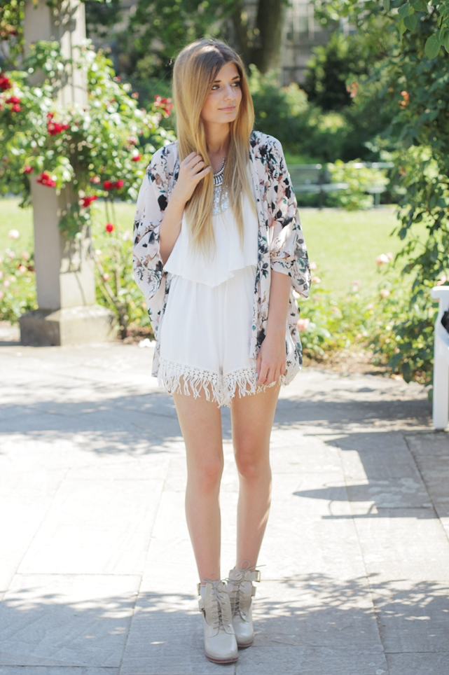 Sommer Outfit Jumpsuit Kimono 2