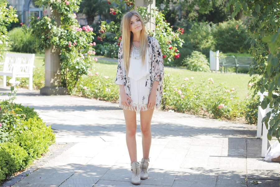 Sommer Outfit Jumpsuit Kimono 5