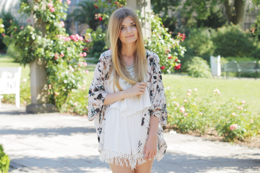 Sommer Outfit Jumpsuit Kimono 7