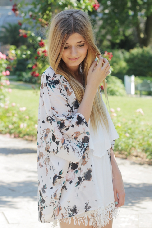 Sommer Outfit Jumpsuit Kimono 9