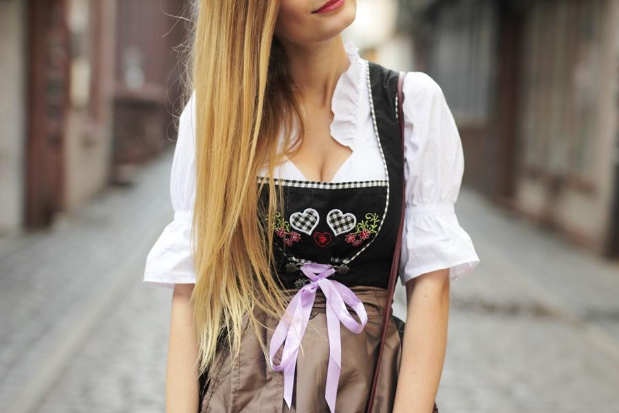Dirndl Dirndlfest Oktoberfest Outfit Blog 7