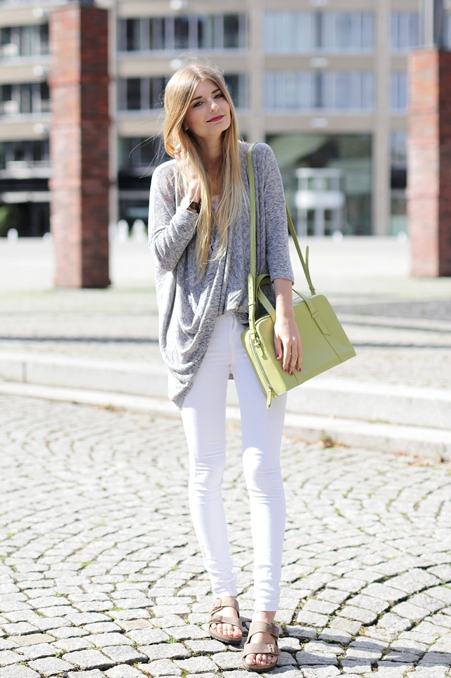 Weiße Jeans Outfit Blog 1
