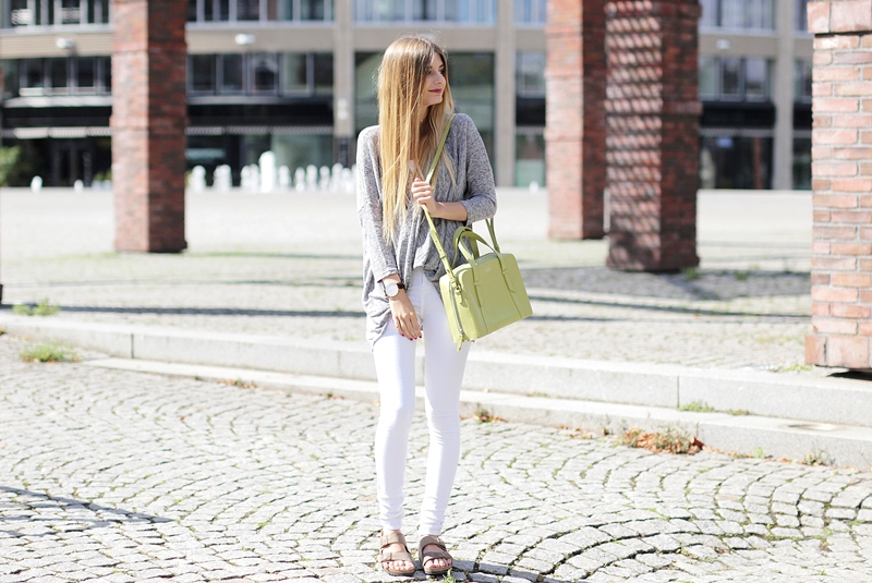 Weiße Jeans Outfit Blog 5