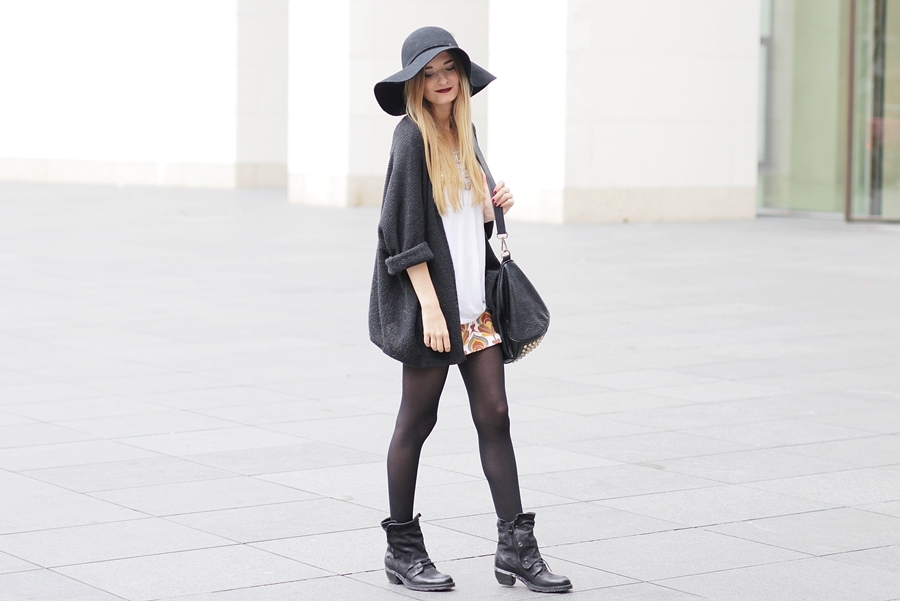 Herbst Outfit Retro Rock 4