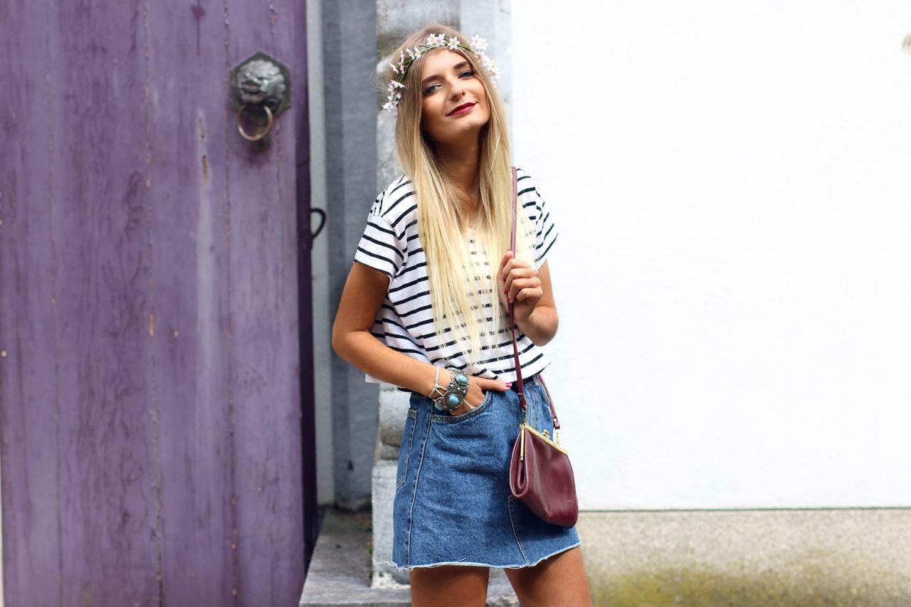 Modeblog-German-Fashion-Blog-Outfit-Jeansrock-Streifen-Shirt-5