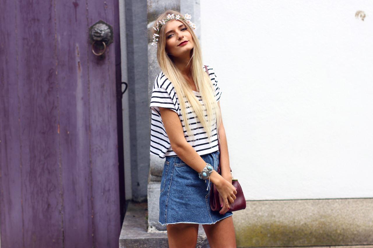 Modeblog-German-Fashion-Blog-Outfit-Jeansrock-Streifen-Shirt-6