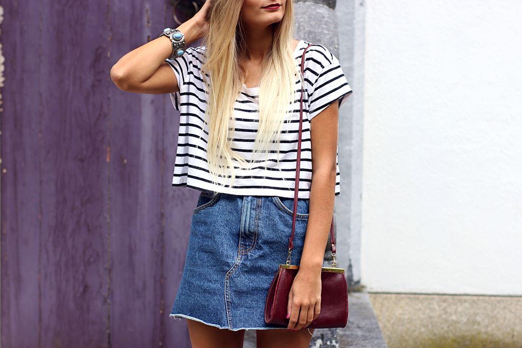 Modeblog-German-Fashion-Blog-Outfit-Jeansrock-Streifen-Shirt-7