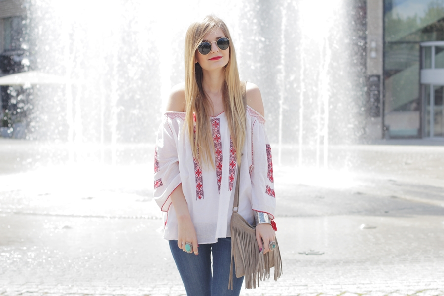 Boho Blouse Outfit 10