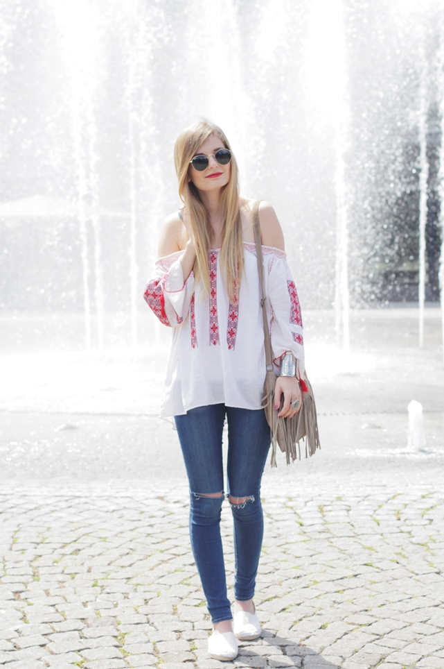 Boho Blouse Outfit 2