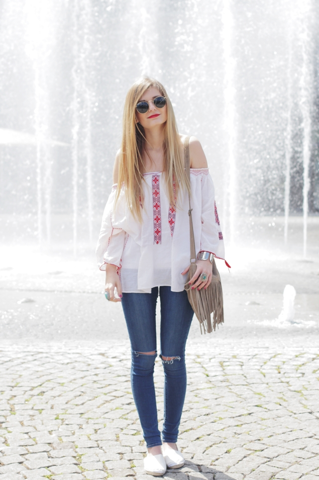 Boho Blouse Outfit 3