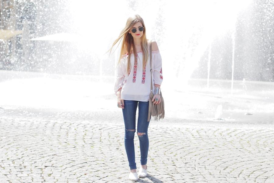 Boho Blouse Outfit 4