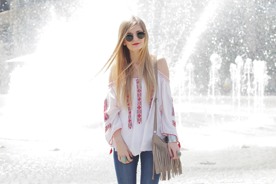 Boho Blouse Outfit 9