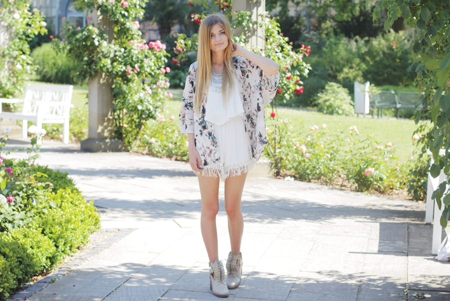 Sommer Outfit Jumpsuit Kimono 3