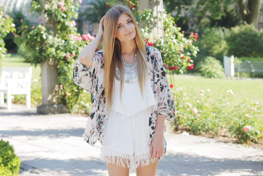 Sommer Outfit Jumpsuit Kimono 6