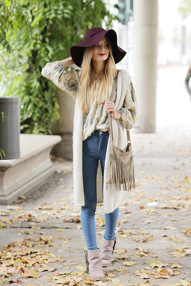 Strickweste Outfit Hypnotized Blog 2