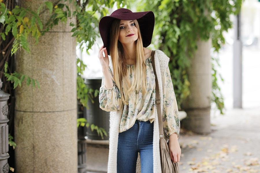 Strickweste Outfit Hypnotized Blog 4