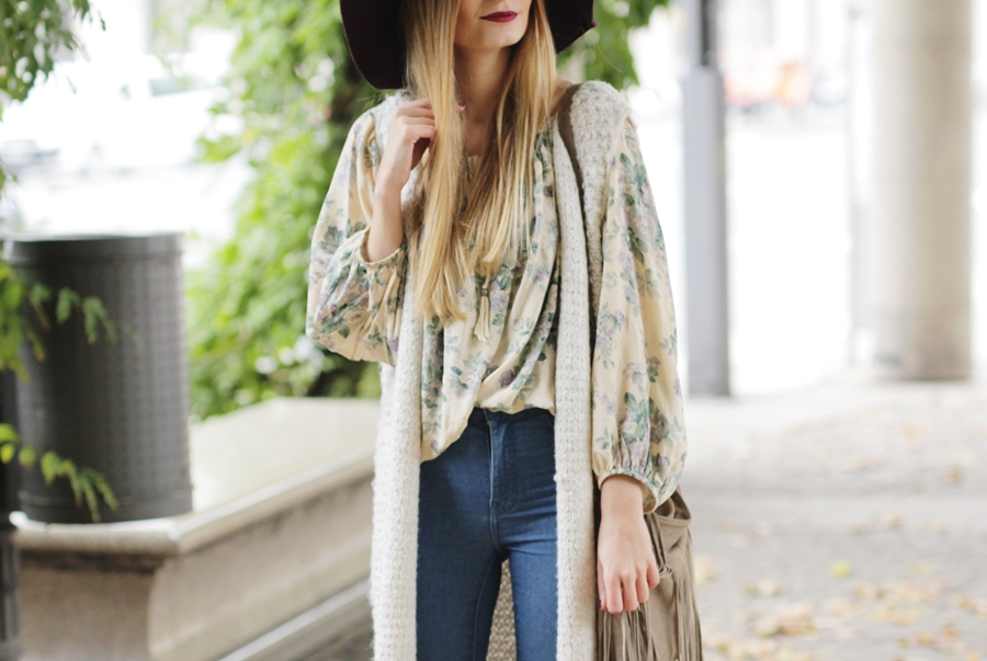 Strickweste Outfit Hypnotized Blog 7